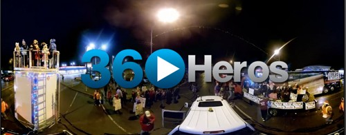360 Santa Claus Lane Parade in 360 Video