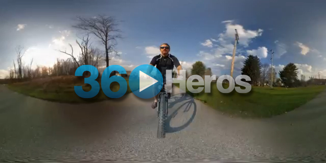 360 Full Spherical Video ride at the Allegany Bike Trail