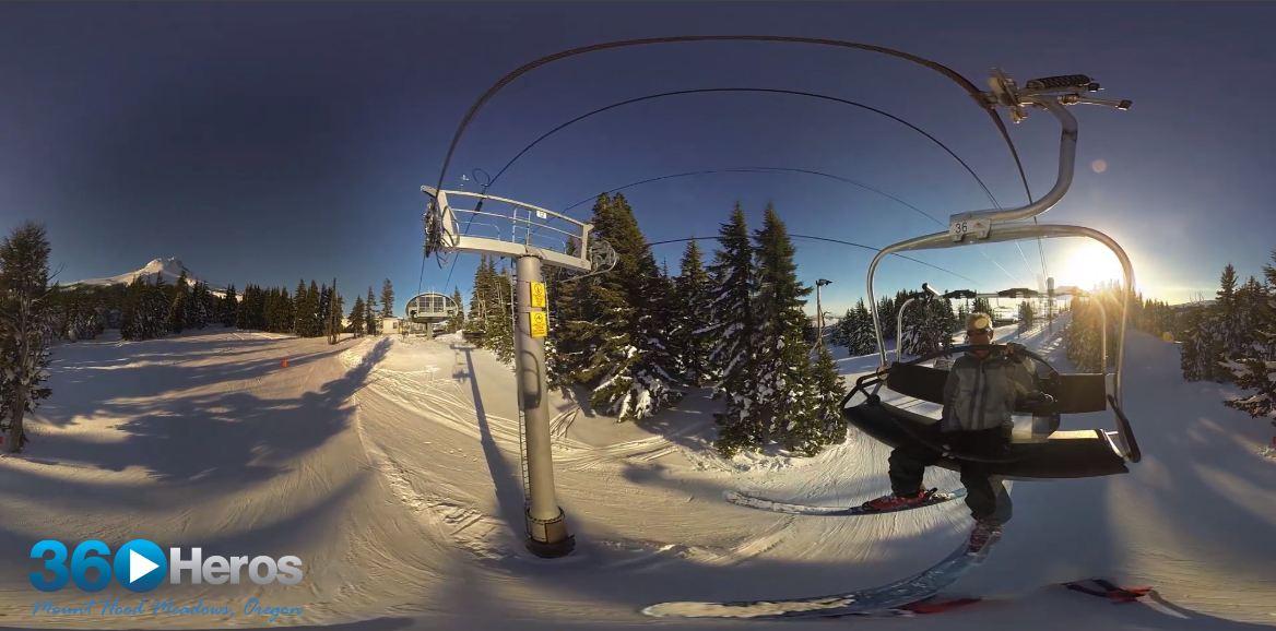 360 Video of Mount Hood, Oregon – Mounting Hardware