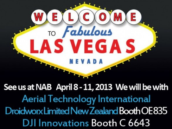 NAB in Las Vegas April 8 – 11, 2013