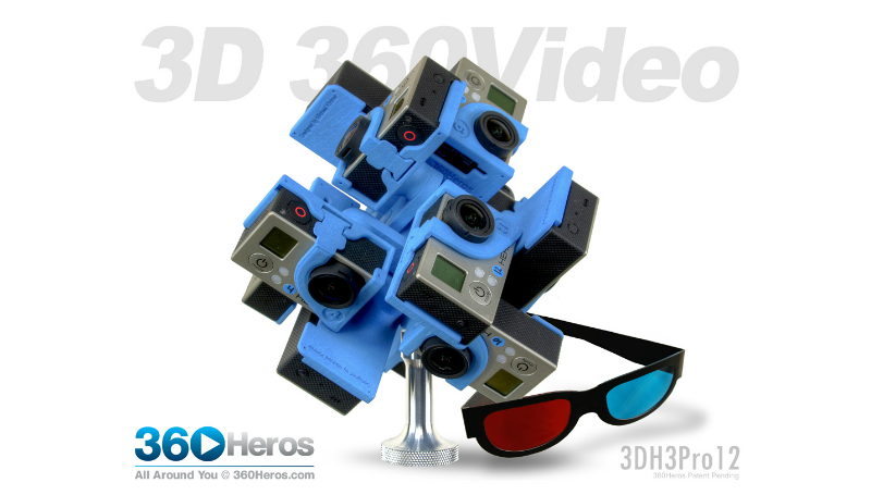 3D 360 video feature image