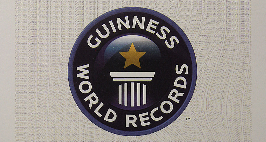 360Heros and Everest Team are awarded Guinness Book of World Records Certificate