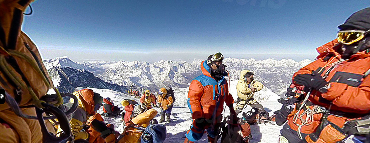 First 360 Video from the Top of the World with Everest Media Productions