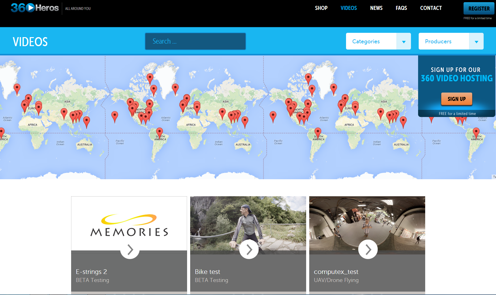 Share Your 360 Adventures With Our FREE 360 Video Hosting Service