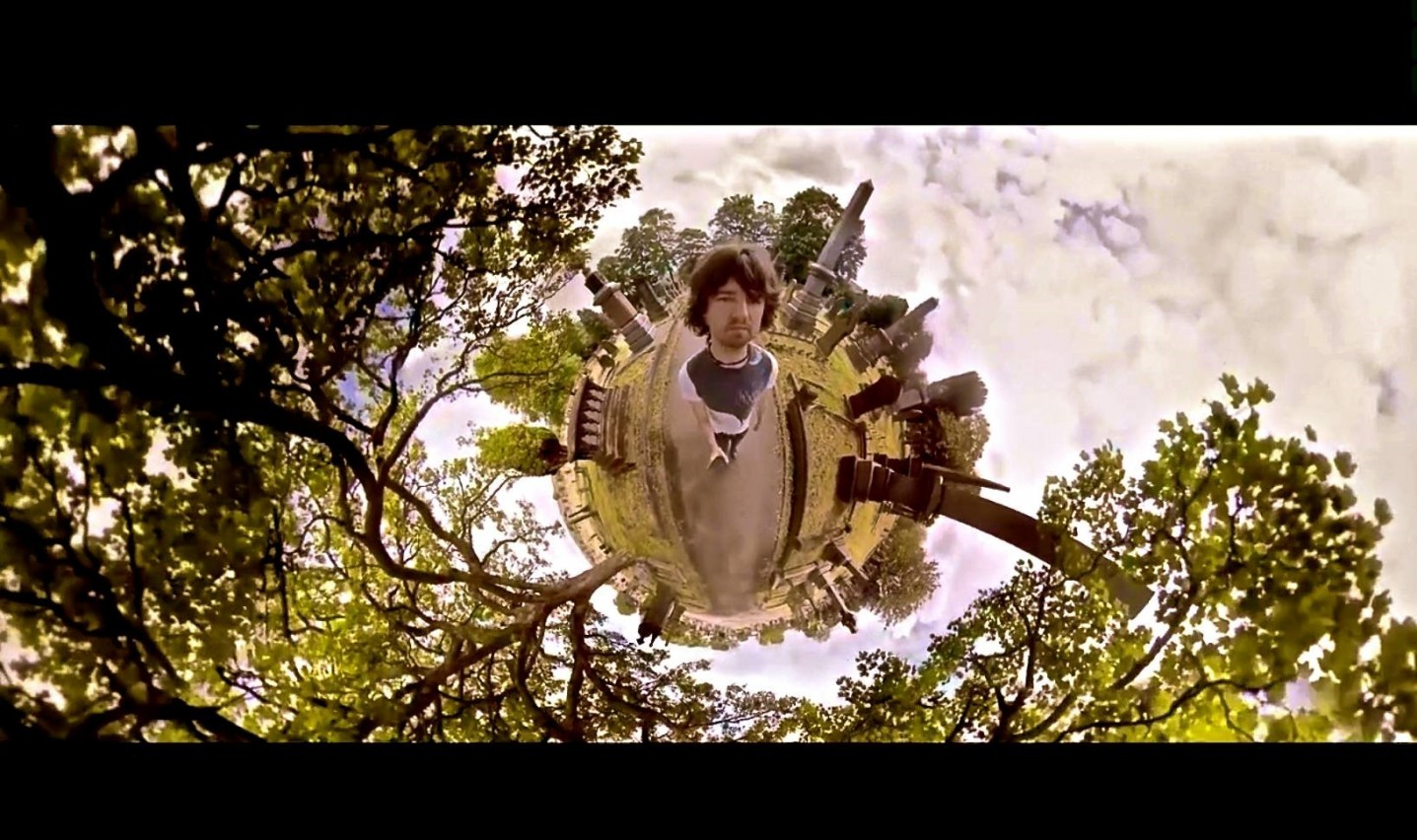Their Own Tinyplanet: Embrace Releases Spherical Music Video for 'I Run'