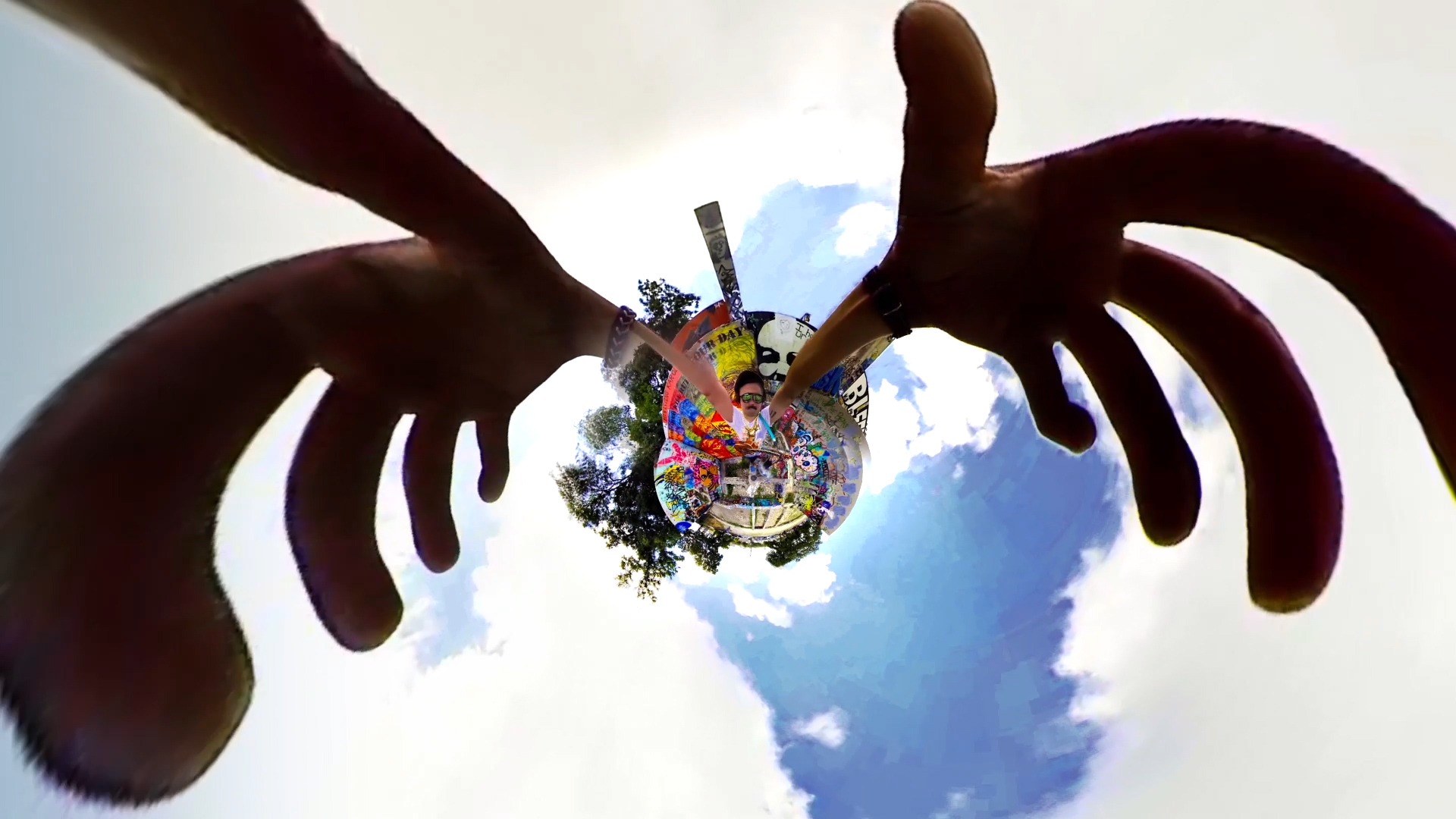 "Go Wild With Spherical Video: Onion Creek Produces a 360 Video for Wild Child's ""Rillo Talk"""