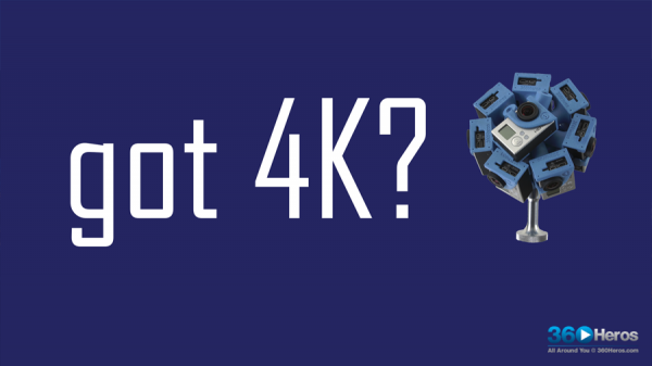 4K VR 360° Video: What is it and How Can I Produce it?
