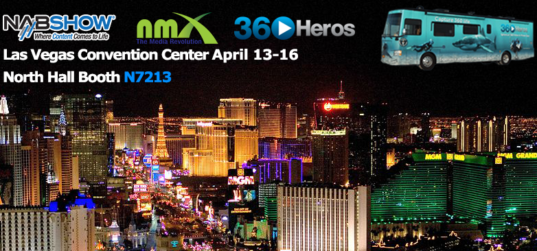 VR, Drones, and Immersive Domes: Experience NAB with 360Heros!