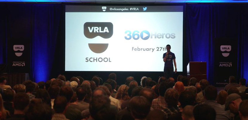 360Heros to Teach VRLA School 360 Video Workshop