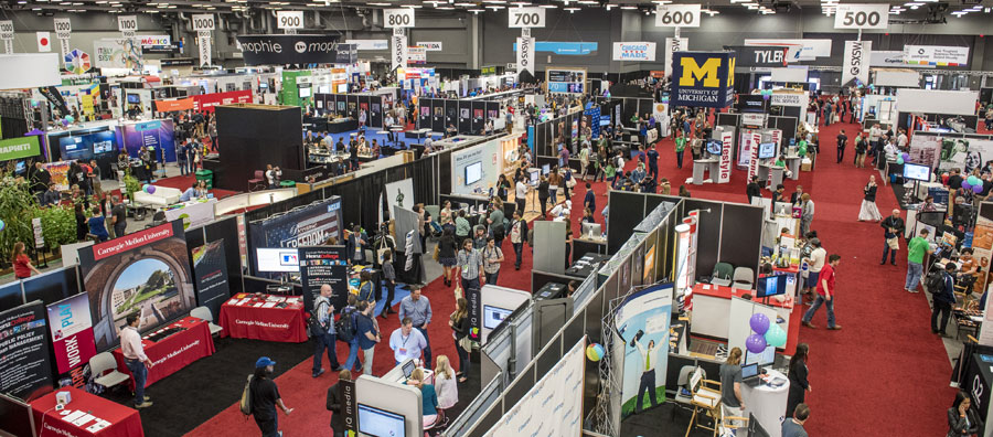 The 2015 SXSW tradeshow. Photo by Merrick Ales