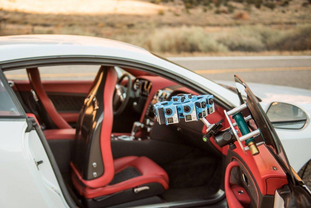 Experius VR Bentley interior