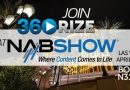 Join us at the 2017 NAB Show Las Vegas Next Week!