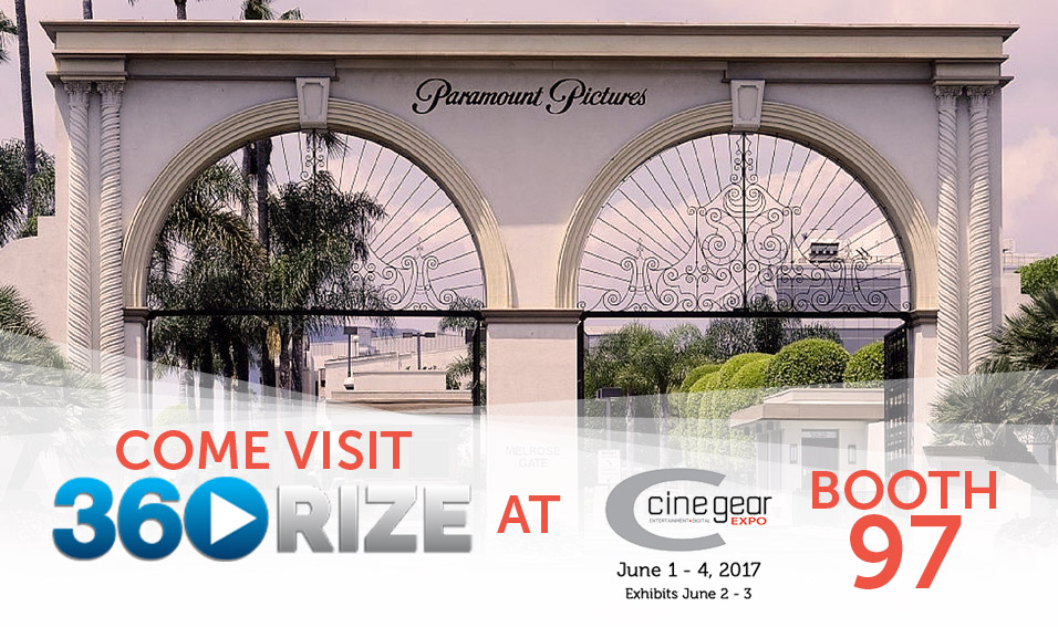 360Rize at 2017 Cine Gear Expo LA