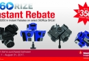 Manfrotto Instant Rebate!