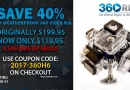 Summer Inventory Close Out Special – Save 40% on the 360H6!