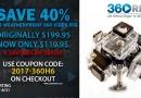 360H6 Closeout Sale!!