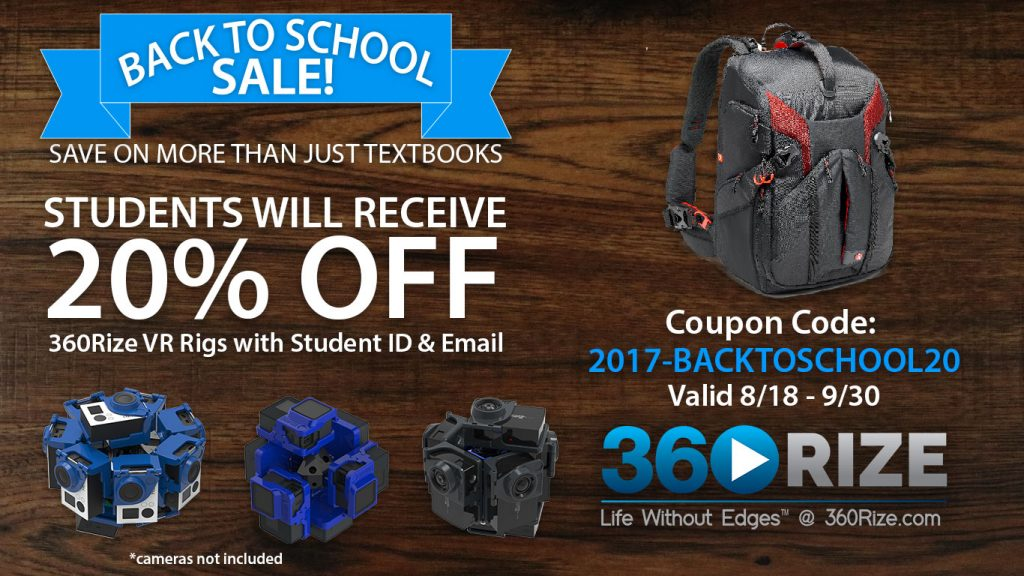 360Rize Back To School Sale