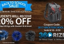 360Rize's Back to School Sale