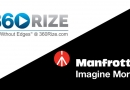 Explore Virtual Reality with 360Rize on Manfrotto.co.uk