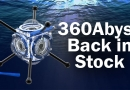 360Abyss Underwater VR Filming Rig is BACK IN STOCK!