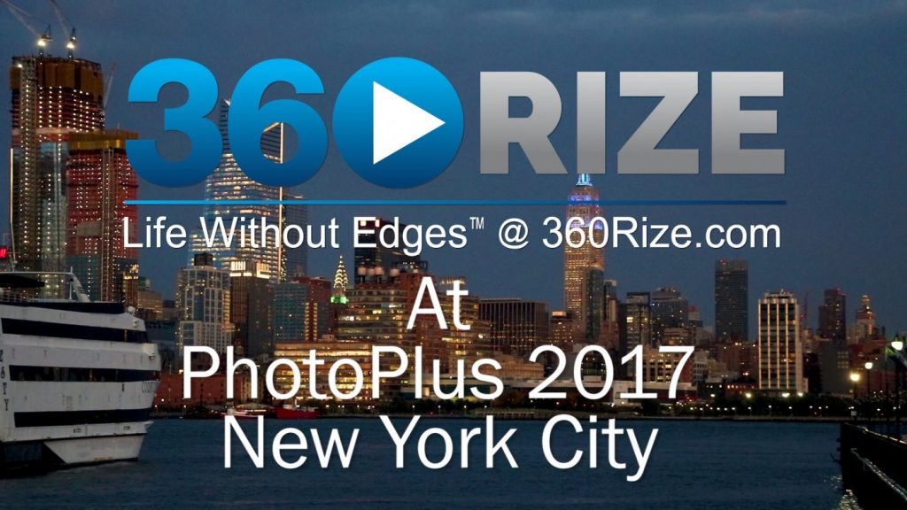 360Rize PhotoPlus 2017 New York City