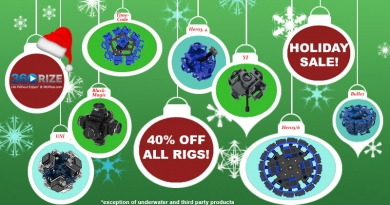 Save 40% this Holiday Season on All 360Rize® Rigs and Accessories